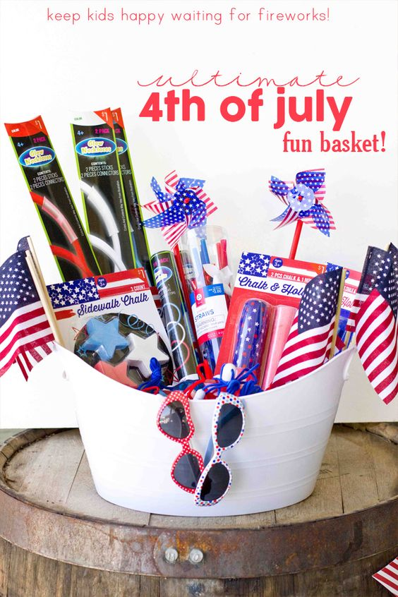 4th Of July Gift Basket 03