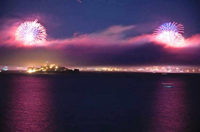 Angel Island Fireworks