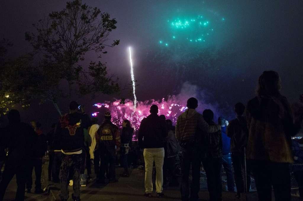 Aquatic Park Fireworks
