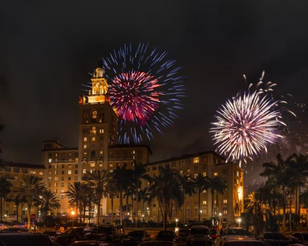Coral Gables Fireworks