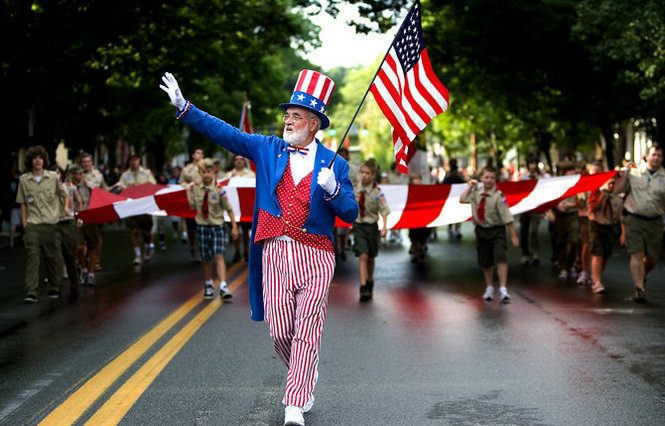 Key Biscayne 4th July Parade