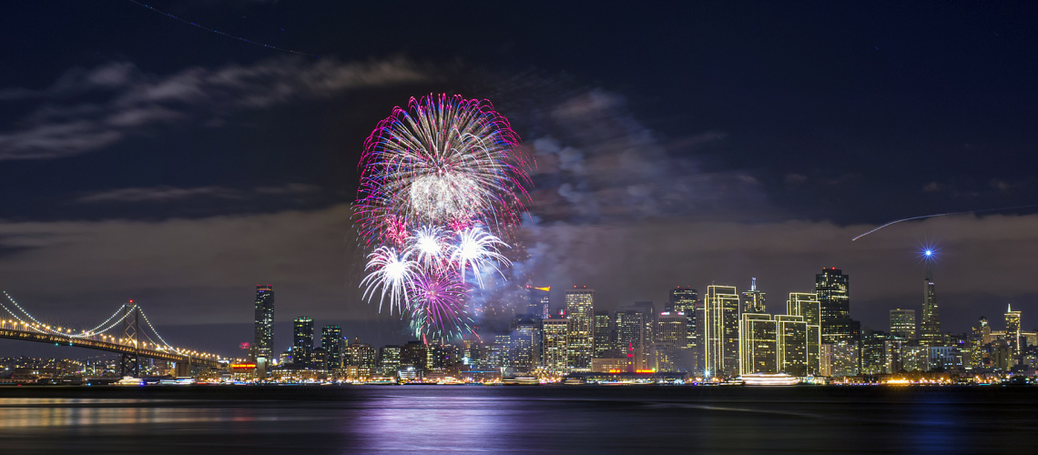The Cannery San Francisco Fireworks