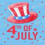 4th Of July USA Hats