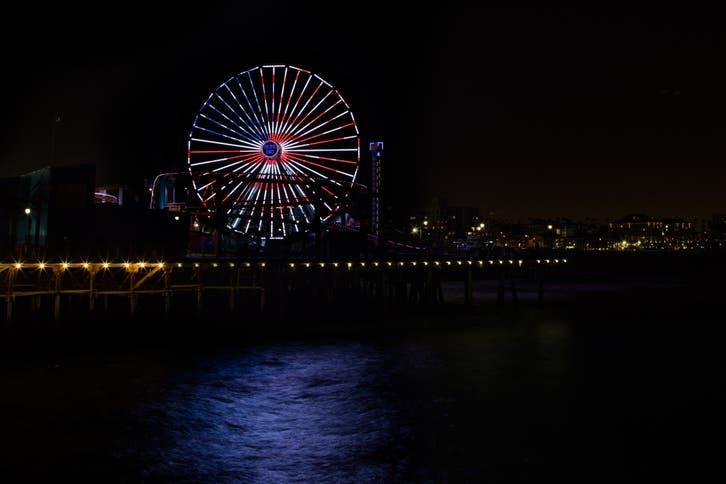 Santa Monica Fireworks